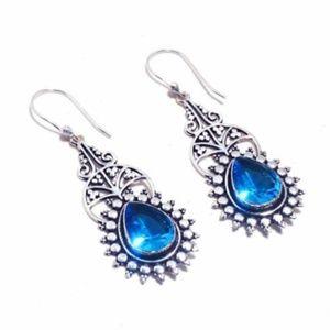 Blue Topaz & .925  Silver
